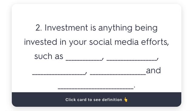 Evaluating a social media campaign