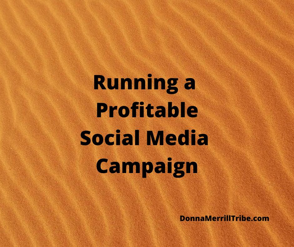 Run a profitable social media campaign