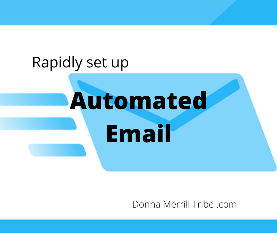 set up automated email