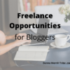 Freelance opportunities for bloggers