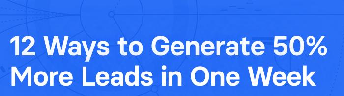 Generate Leads fast