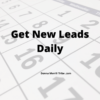 Get New Leads Daily