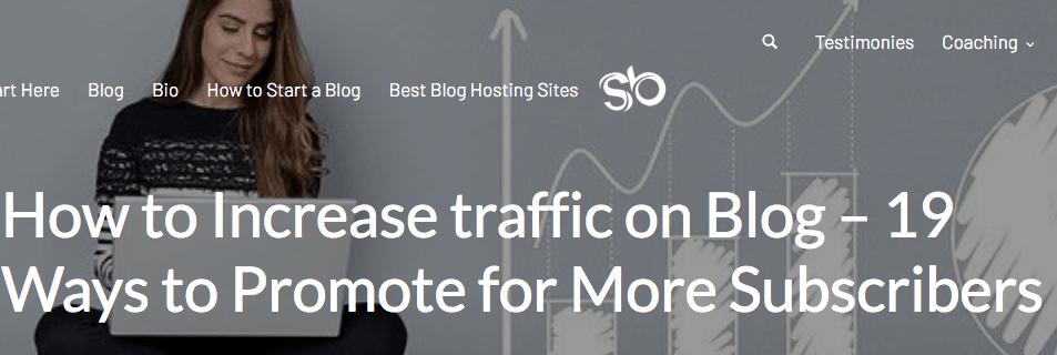 Increase blog leads